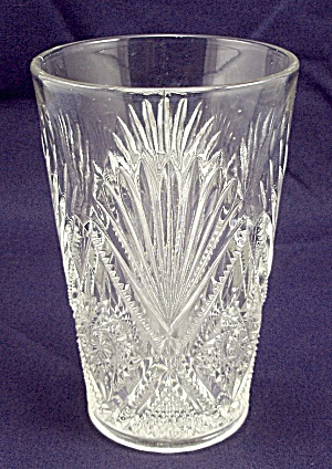 Pattern Glass – Tumbler – Diamond  Fan (Image1)