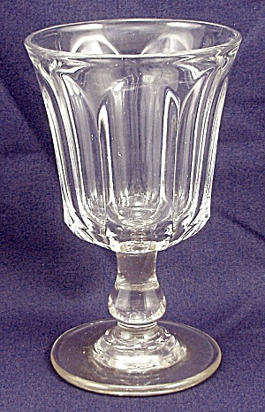 Pattern Glass - Wine - Colonial - Flute