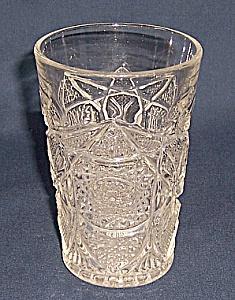 Pattern Glass – Tumbler -  Hobstar (Image1)