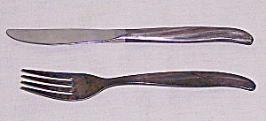 TWA – Advertising / Souvenir – Knife & Fork (Image1)