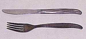 TWA – Advertising / Souvenir – Knife & Fork (Image1)