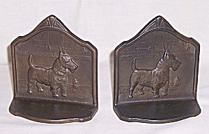 Scottish Terrier � Iron Bookends- 1929 (Image1)