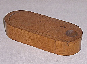 Pencil Boxes: Two Sliding Drawers - Wood Storage Box � Nib Holder Size / With Nibs (Image1)