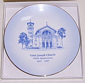 St. Joseph Church - Dayton, Ohio - 150th Anniversary - Collector Plate