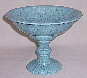 Red Wing – Art Pottery – # M 5008 Round Compote – Pedestal Bowl (Image1)