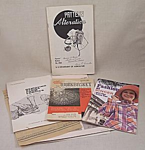 Vintage Sewing Lot – 1958 – 1968 – 1972 Booklets (Image1)
