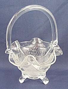Fenton Glass Basket