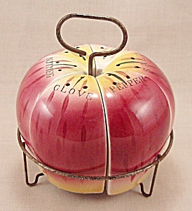 Kitchen Collectible - Fruit Shaped Spice Set - Mij