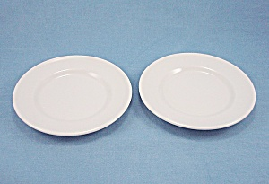 Restaurant Ware - Sterling U.s.a. China - Lamberton -2 Bread Plates