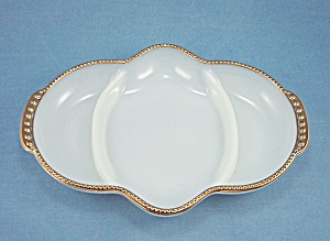 Anchor Hocking - Fire King -  Relish Dish – Three Section Tray (Image1)