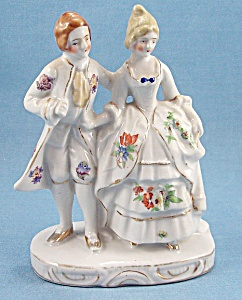 Made In Japan – Hand Painted Couple - Figurines (Image1)