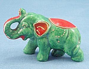 Green Circus Elephant (Image1)