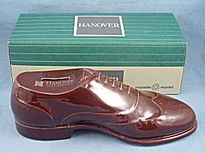 Pottery, Advertising Hanover Shoe Co. Coin Bank, U.S.A., MIB (Image1)