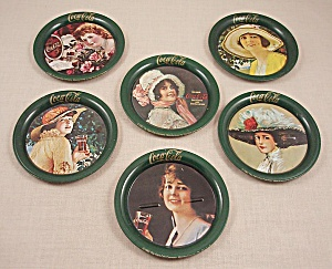 Advertising - Coke / Coca-Cola / Coaster Set 1983	/ Ohio Art (Image1)