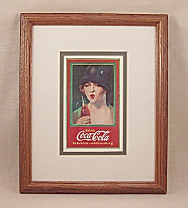 Advertising - Framed Coke / Coca-cola Art Print #1
