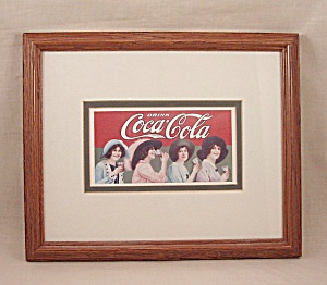 Advertising - Framed Coke / Coca-Cola  Art Print #2 (Image1)