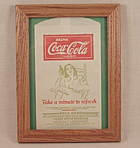 Advertising - Coke / Coca- Cola / No Drip - Dated Bottle Protector