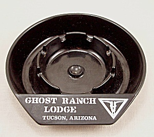 Molded Plastic Ashtray – Ghost Ranch Lodge (Image1)