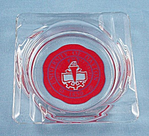 Glass Ashtray – University of Dayton (Image1)