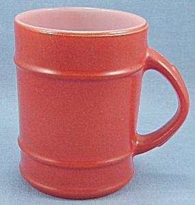 Vintage Fire King – Ranger Mug – Orange (Image1)