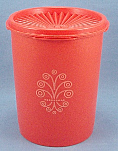 Vintage Tupperware Canister – Orange (Image1)