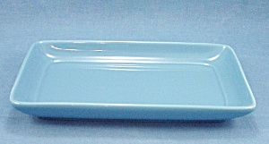 Pottery Tray � Blue � Rectangle Shape � Simple Lines (Image1)