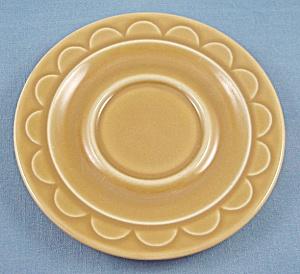 Granada Harvest Gold – Homer Laughlin – Sheffield – Saucer (Image1)