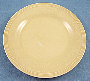 Knowles China – Deanna – Yellow Bread Plate (Image1)