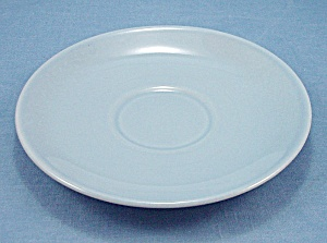 TAYLOR SMTH & TAYLOR- LuRay  / Lu-Ray Pastel Saucer- Blue (Image1)