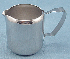 Gemco - Stainless Steel - Individual Creamer / Condiment Server / Syrup Pitcher