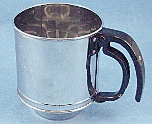 Chrome One-handed Sifter