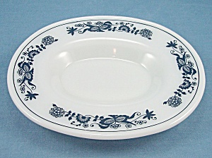 Pyrex - Old Town / Blue Onion - Under Plate For Gravy