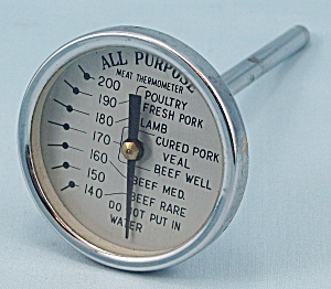 All Purpose - Meat Thermometer - Vintage