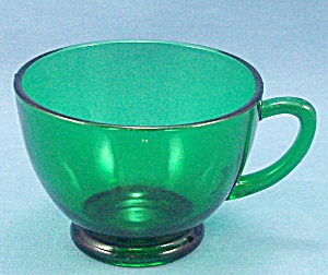 Anchor Hocking - Forest Green - Replacement Snack/punch Cup