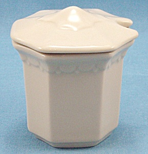 Syracuse China – Mustard / Condiment Container - 1963 (Image1)