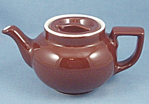 Hall � Individual � Teapot � Brown (Image1)