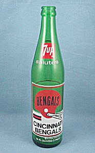 1973 - 7-up - Commemorative Bottle - Cincinnati Bengals