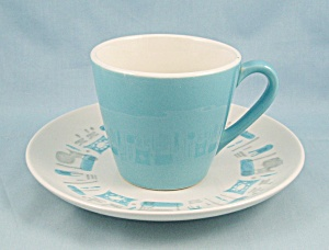 Royal China � Blue Heaven � Cup & Saucer (Image1)