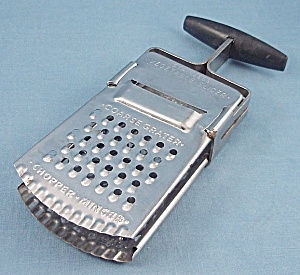 Kitchen Collectibles – Stainless Vegetable Slicer (Image1)
