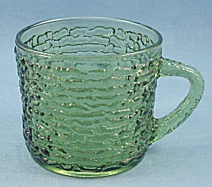 Anchor Hocking – Soreno –  Punch Cup – 1960's Avocado (Image1)
