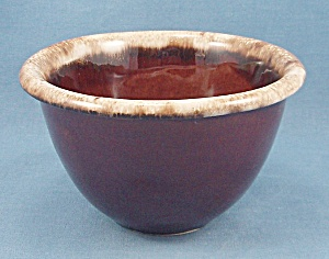Pottery � Oven Proof -  USA � Brown Drip Bowl (Image1)