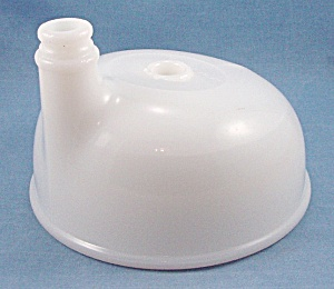 Milk Glass Juicer Bowl – Mixer Attachment - Kitchen Collectibles (Image1)