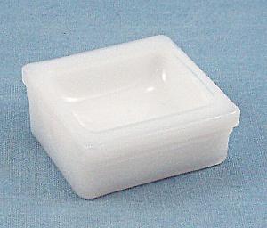 Hazel Atlas - Milk Glass -  Salt Dip – # H 8 (Image1)