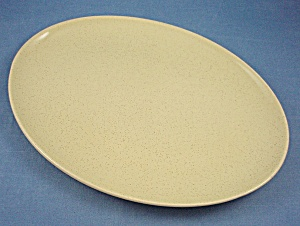Pebbleford Sunburst Yellow - Oval Platter - 1953-1960 - Taylor - Smith-taylor