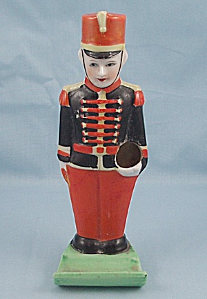 Vintage Soldier Toothbrush Holder, Made In Japan
