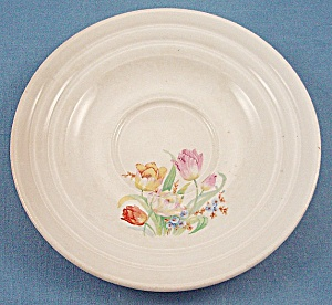 The Aristocrat � Leigh Potters � Easter Pattern - Floral Saucer (Image1)