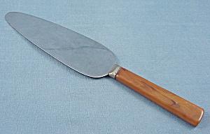 Cake Knife  - Bakelite Handle (Image1)