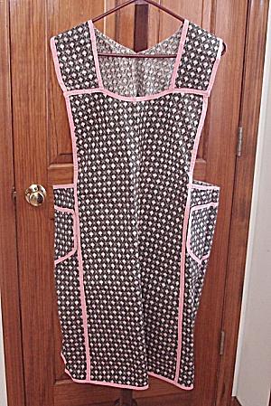 Vintage Bibbed Apron # 3Size: Large (Image1)