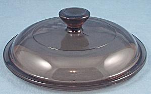 Pyrex V1C, Corning Glass Lid – Amber / Round – 6 Inch (Image1)