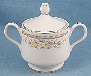 Ekco International China – Golden Autumn – Sugar Bowl & Lid (Image1)